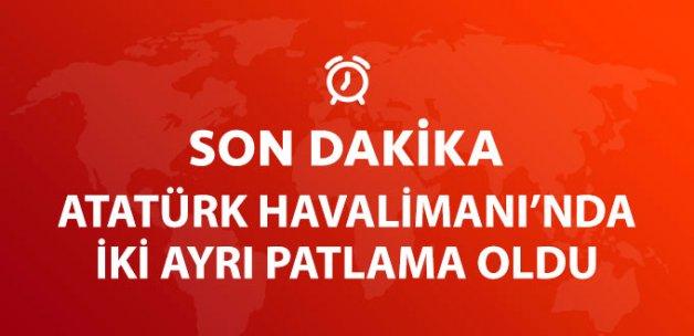 Atatürk Havalimanı'nda İki Patlama Oldu!