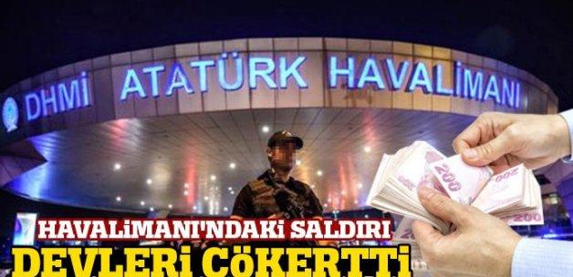 Atatürk Havalimanı'ndaki bombalı saldırı, dev şirketleri çökertti