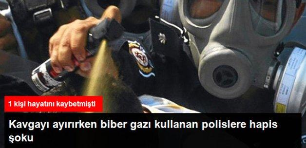 Biber Gazı Davasında Polislere Hapis Cezası