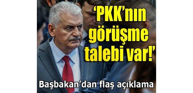 Binali Yıldırım: PKK'dan 'görüşelim' haberleri geliyor!