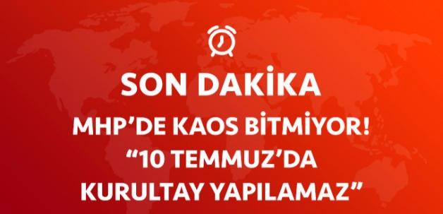 Çankaya İlçe Seçim Kurulu'ndan MHP Kararı: 10 Temmuz'da Kurultay Yapılamaz