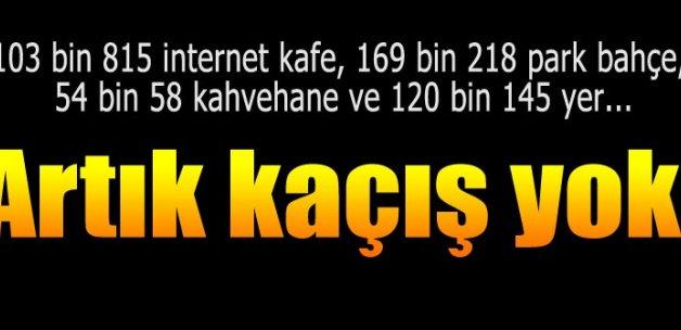 Cinsel istismarcıya internet kafe yok!
