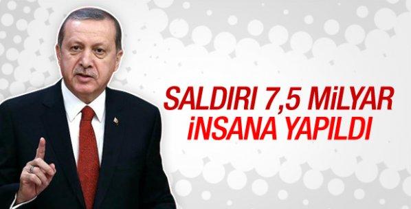 Cumhurbaşkanı Erdoğan'dan saldırı sonrası ilk açıklama