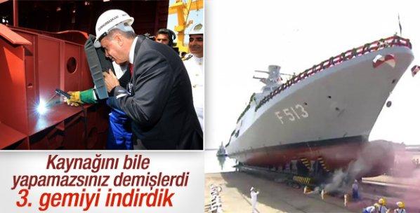 Cumhurbaşkanı Erdoğan'dan uçak gemisi açıklaması