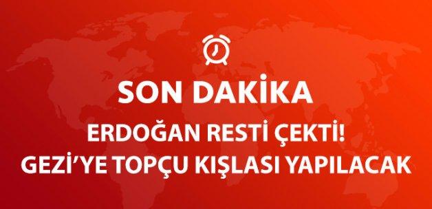 Cumhurbaşkanı Erdoğan: Gezi Parkı'na O Tarihi Eseri İnşaa Edeceğiz