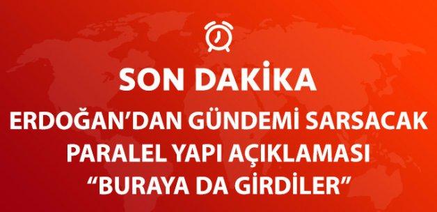 Cumhurbaşkanı Erdoğan: Paralel Yapı Belki de Cumhurbaşkanlığı'na da Girdi