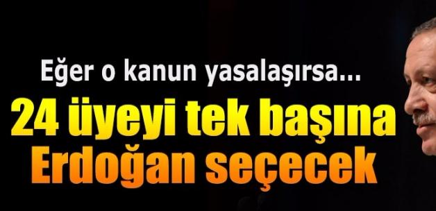 Danıştay'a 24 üyeyi Erdoğan seçecek!