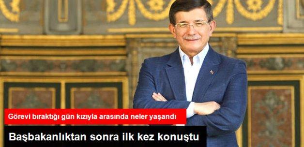 Davutoğlu, Başbakanlığı Bıraktıktan Sonra İlk Kez Konuştu