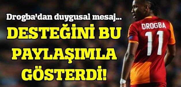 Didier Drogba: Bütün dualarım canım İstanbul'umla