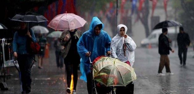 Dikkat: Şiddetli yağış başlıyor!