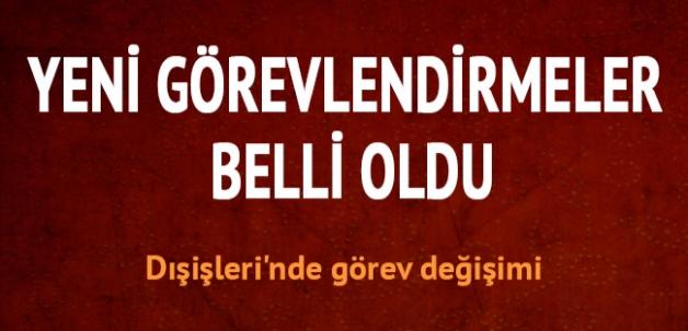 Dışişleri'nde görev değişimi: Müsteşar Sinirlioğlu...