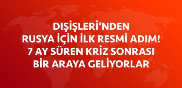 Dışişleri Bakanı Çavuşoğlu Rusya'ya Gidiyor