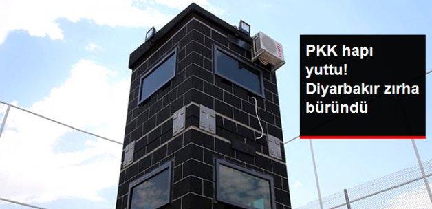 Diyarbakır'a 3 Katlı 10 Ton Ağırlığında Zırhlı Kuleler Kuruldu