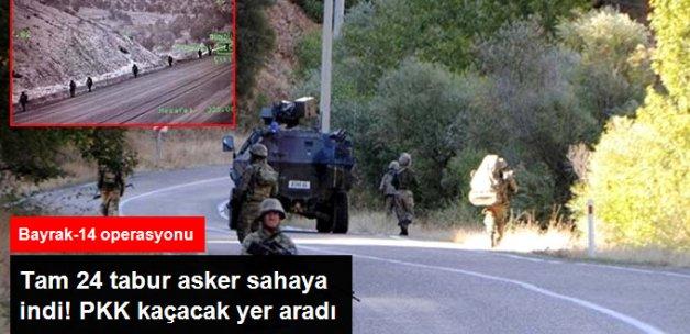 Diyarbakır'da 24 Tabur Askerin Katılımıyla Operasyon
