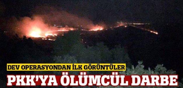 Diyarbakır'daki operasyondan ilk görüntüler!