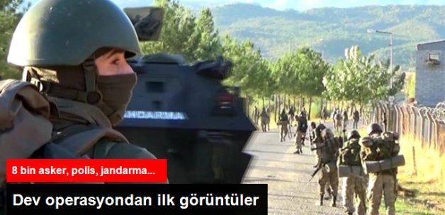 Diyarbakır Lice'deki Dev Operasyondan İlk Görüntüler