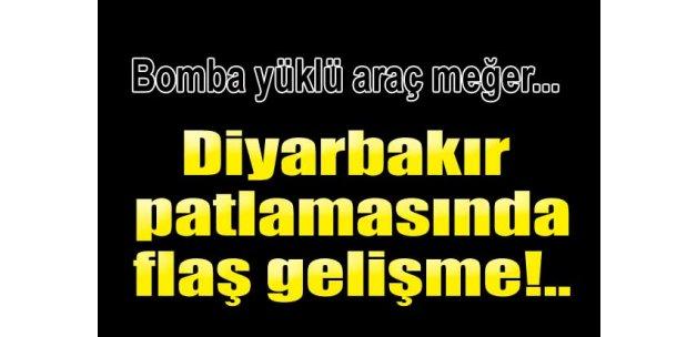 Diyarbakır patlamasında flaş gelişme!