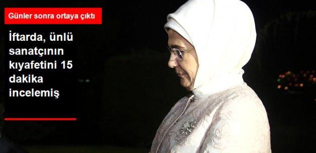 Emine Erdoğan, İbrahim Erkal'la 15 Dakika Çengelli İğneyi Konuşmuş