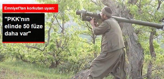 Emniyet: PKK'nın Elinde Helikopter Düşürebilecek 50 Füze Var