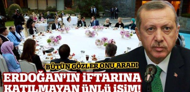 Engin Altan Düzyatan, Cumhurbaşkanı Erdoğan'ın iftarına katılmadı
