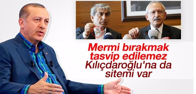 Erdoğan Kılıçdaroğlu'na mermili saldırıyı değerlendirdi