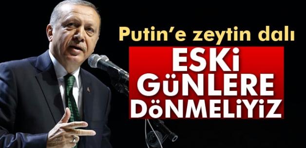 Erdoğan: 'Rusya ile bozulan ilişkiler düzelebilir'
