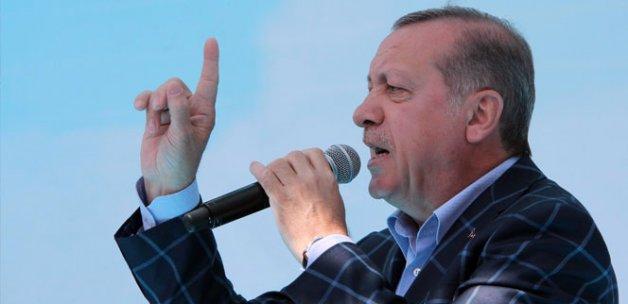 Erdoğan: 'Destekliyoruz'