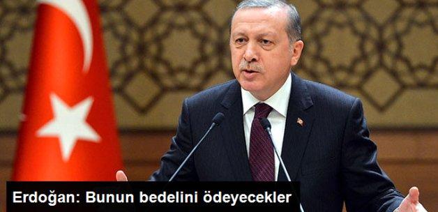 Erdoğan HDP'li Belediyelere Sert Çıktı: Bunun Bedelini Ödeyeceksiniz
