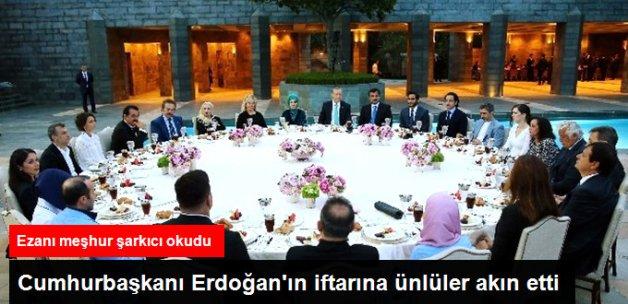 Erdoğan'ın Tarabya Köşkü'ndeki İftarına Ünlüler Akın Etti