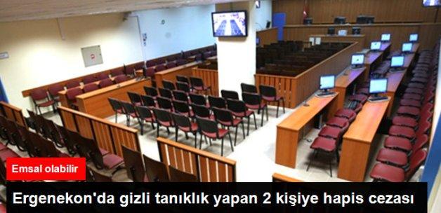 Erzincan'daki Ergenekon Davası'nda Gizli Tanıklık Yapan 2 Kişiye Hapis