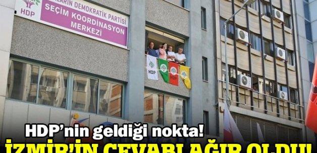 Figen Yüksekdağ'a İzmir şoku!