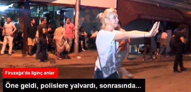 Firuzağa'da Eylemci Kadının Polise Yalvarma Anları Kameralara Yansıdı