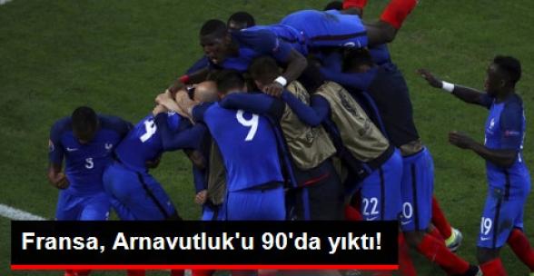 Fransa: 2 - Arnavutluk: 0 | MAÇ SONUCU