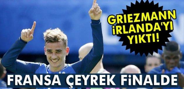 Fransa çeyrek finalde!