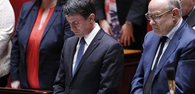 Fransa Parlamentosu'nda Türkiye için saygı duruşu
