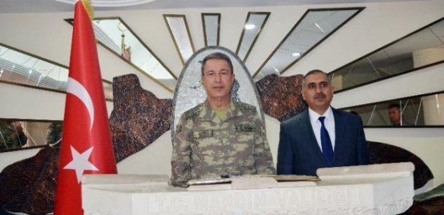 Genelkurmay Başkanı Hulusi Akar Mardin'de