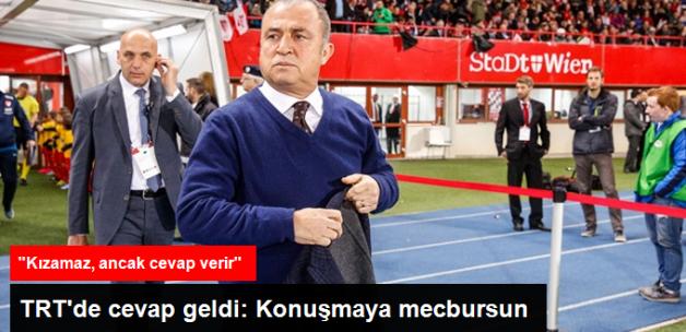 Giray Bulak'dan Fatih Terim'e: TRT'ye Konuşmaya Mecbursun