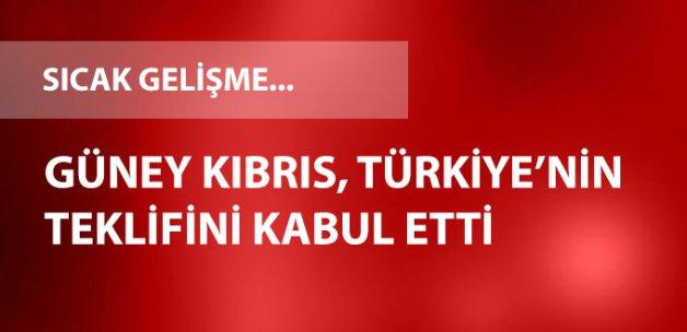 Güney Kıbrıs Türkiye'nin Yardım Teklifini Kabul Etti