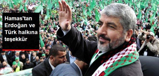 Hamas'tan Cumhurbaşkanı Erdoğan ve Türk Halkına Teşekkür