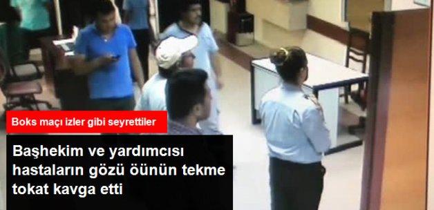 Hastane Başhekimi ile Yardımcısı Oda Yüzünden Kavga Etti