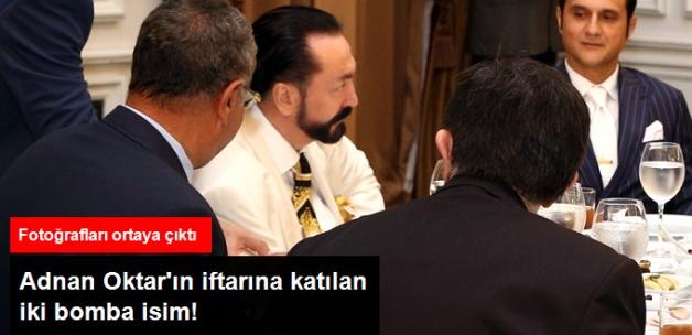 Hayko Bağdat ve Mustafa Keser Adnan Oktar'ın Verdiği İftara Katıldı