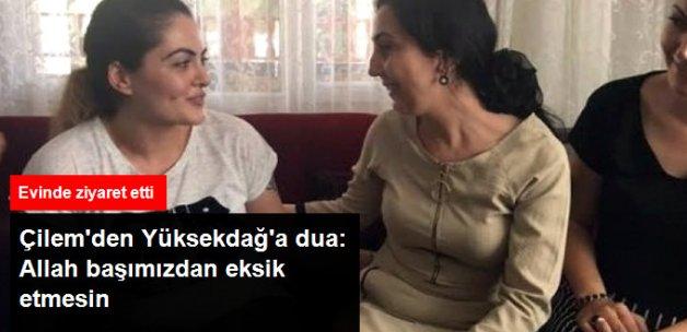 HDP Eş Genel Başkanı Figen Yüksekdağ, Çilem Doğan'ı Ziyaret Etti