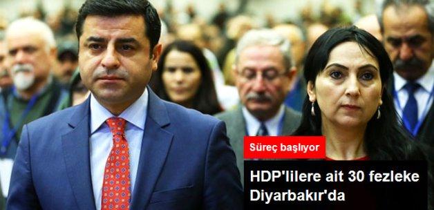 HDP Milletvekillerine Ait 30 Fezleke Diyarbakır'a Gönderildi