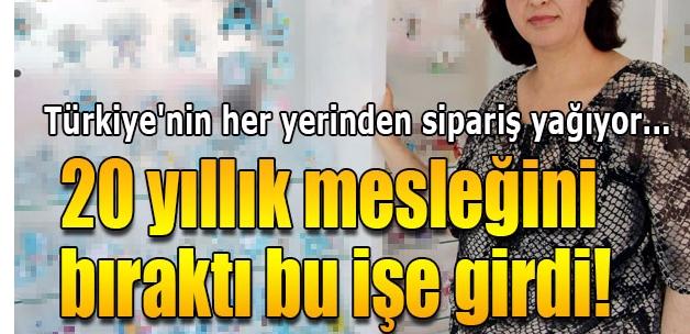 Hobi olarak başladığı şekerleri Türkiye'ye satıyor