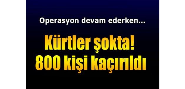 IŞİD 800 sivil Kürt'ü kaçırdı
