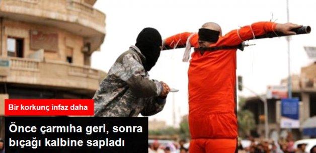 IŞİD Bir Suriyeliyi Daha Çarmıha Gerek İdam Etti