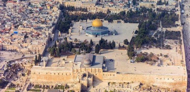 İsrail Mescid-i Aksa'yı haritadan sildi