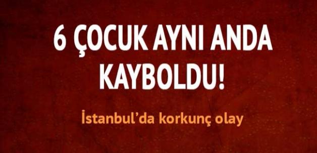 İstanbul'da altı çocuk birden kayboldu