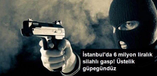 İstanbul'da 1 Milyon 900 Bin Dolarlık Gasp