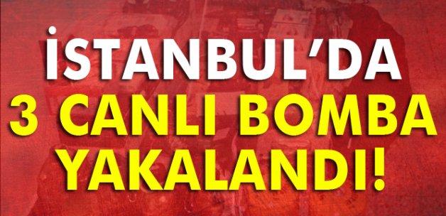 İstanbul'da 3 IŞİD'li intihar yeleğiyle yakalandı